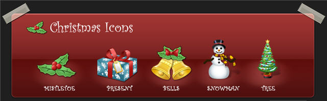 Christmas icons by clevericons