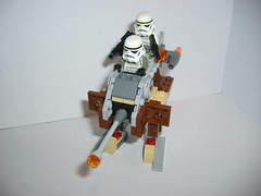 22_  Imperial Desert Walker-armed (Alexander's Lego Gallery) Tags: light storm trooper bike rebel star ship desert lego space luke battle walker solo darth empire saber jedi stormtrooper anakin spaceship lightsaber wars vader vulture clone pilot sith han droid speeder chewbacca leia blaster skywalker rebels galactic organa speederbike