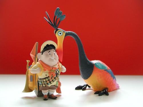 disney pixar up kevin. disney store up pvc figures:
