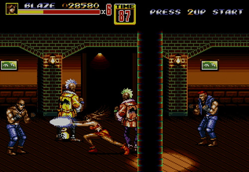 Streets of Rage 2 (Virtual Console)