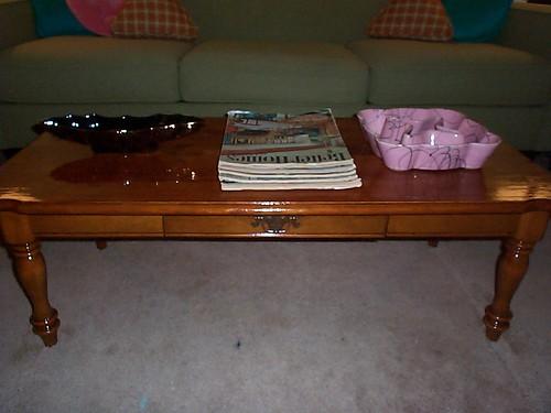 1964 Ethan Allen Baumritter coffee table