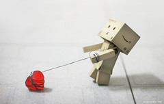 Kidnapping Your Love (avenue207) Tags: red heart artistic conceptual danbo