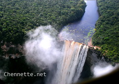 Kaieteur Falls from the plane