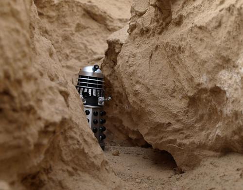Dalek through the passage