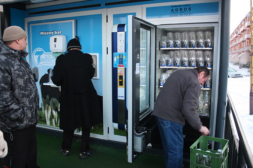 Automat na mleko