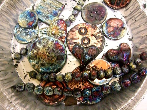 Raku ceramic beads pendants buttons cabochons out of the ashes raku ceramic beads pendants buttons cabochons out of the ashes aloadofball Gallery