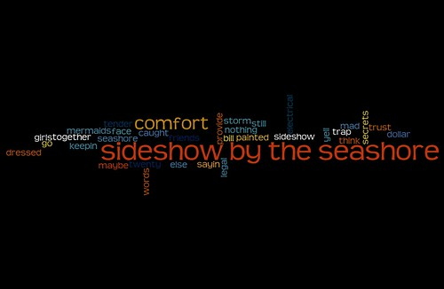 sideshow by the seashore wordle
