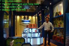 Thiết kế Showroom Ruvina