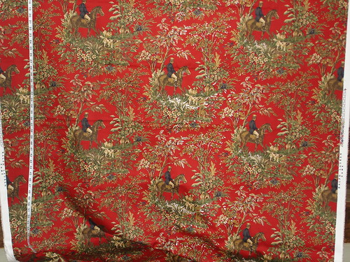 Ralph Lauren horse toile fabric