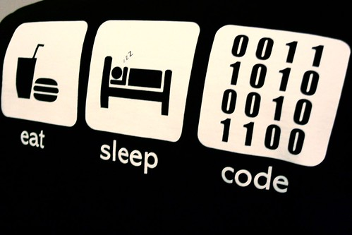 Eat. Sleep. Code.