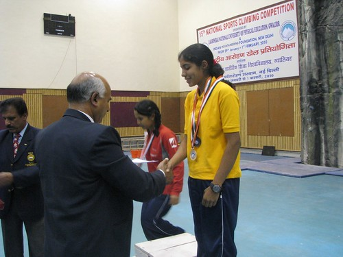 15th_National_Sports_Climbing_Divya_Silver