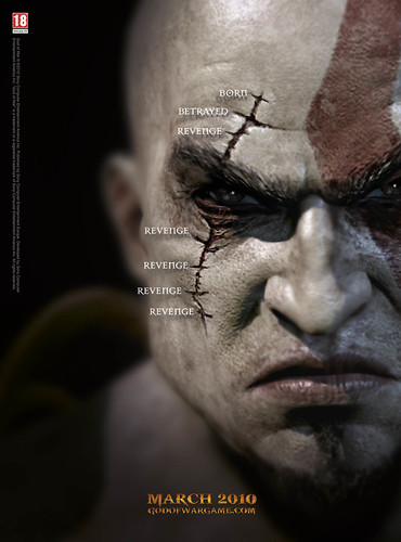 God of War III, póster en tamaño gigantesco