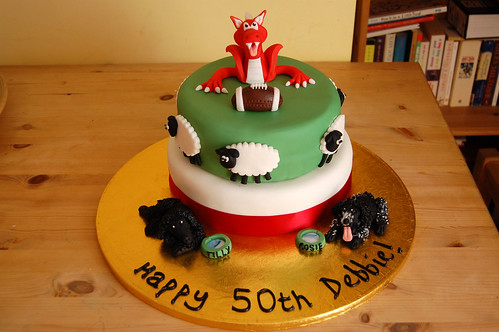 Wales Rugby Cake Beautiful Birthday Cakes