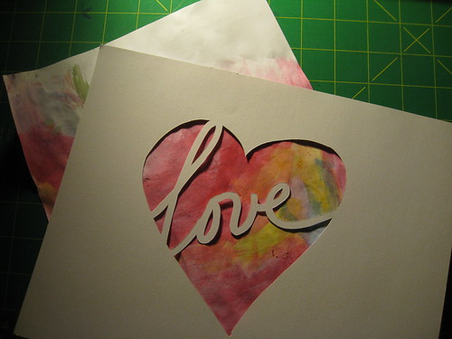 Love cut-out