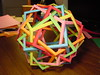 Six Pentagonal Prisms 2: 3-fold Axis