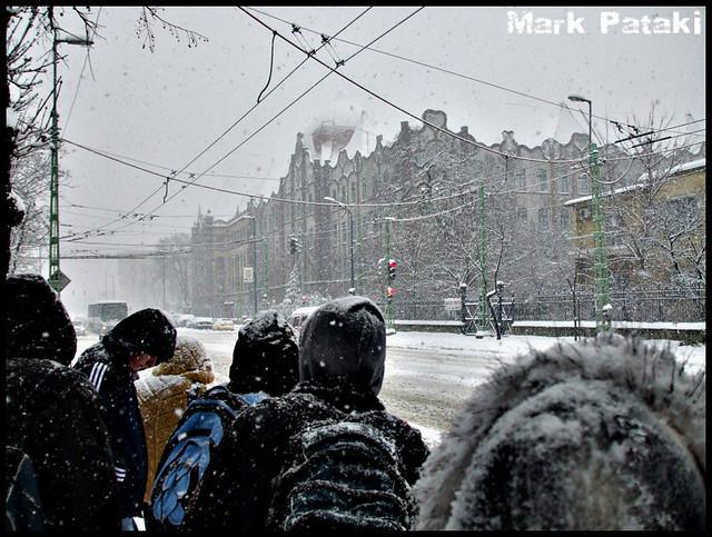 Budapest im Schnee