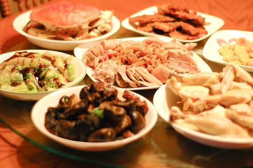 團年飯 Chinese New Year's eve dinner