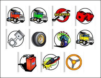 free Highway Kings slot game symbols