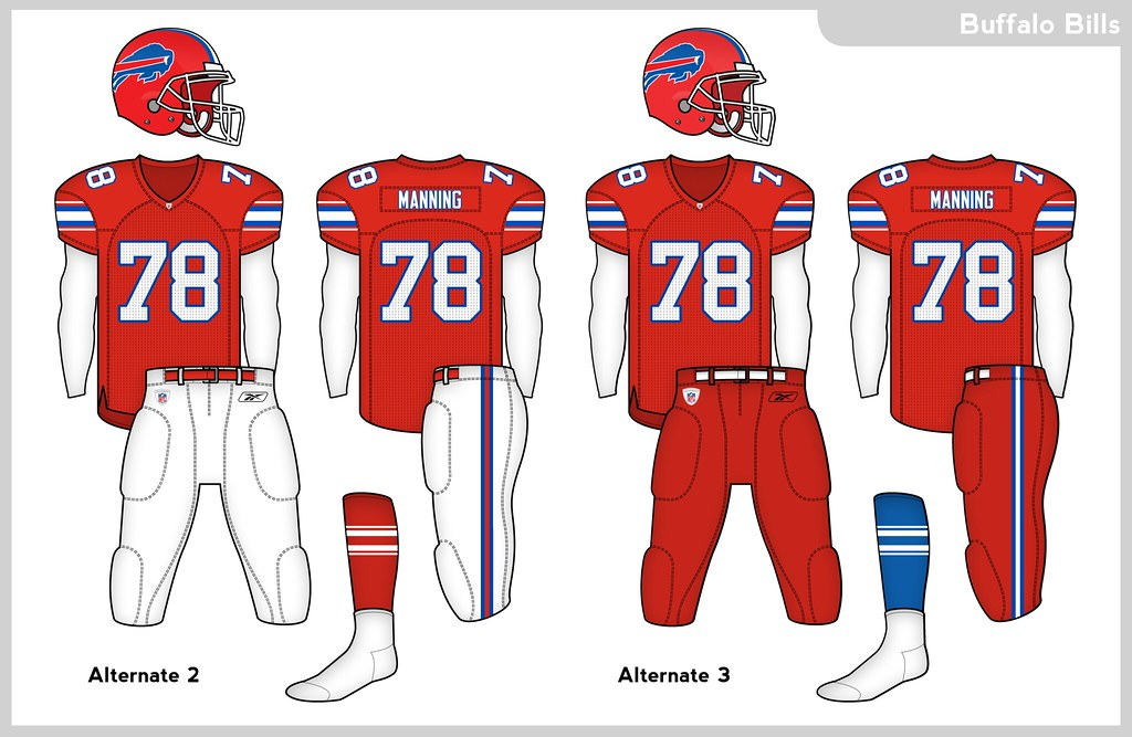 Look Nfl Goes Color Crazy Teases 8 Alternative Unis For