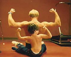 Kevin-making-muscles-with-son-Steven (KevinSaunders7) Tags: sports president explosion possible chairman obama nominees paralympics nominee motivationalspeaker paralympian nominated rolemodel kevinsaunders wheelchairathlete overcomingadversity businessspeaker schoolspeaker corporatespeaker christianspeaker motivationalcoach presidentsfitnesscouncil yeasyoucan wheelchairspeaker associationsspeaker inspirationalathlete famousdisabledathlete safetyspeaker corporatesafetyspeaker worldchampionwheelchairathlete fitnesscouncil chairmanoffitnesscouncil possiblenominees choicesforpresident considerationsforchairman presidentscouncilonphysicalfitnesssports presidentsselectionsforfitnesscouncil obamasfitnesscouncil
