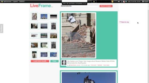 Fotos terremoto Chile