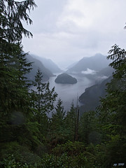 Indian Arm from Crocker Lookout