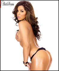 Cynthia Rodriguez aka Sin SHOW Black Lingerie pictures