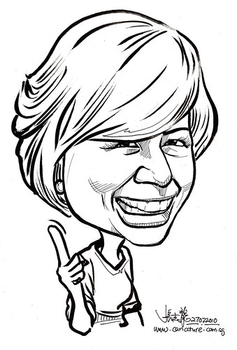 Caricature for K C Dat -  Nancy