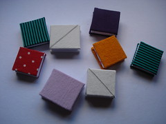 mini books (HNDMDE | Taller de encuadernacin manual) Tags: book handmade sewing libro books mini manual various bookbinding detalles cocido handbound formats reciclados pasoapaso anotador encuadernado