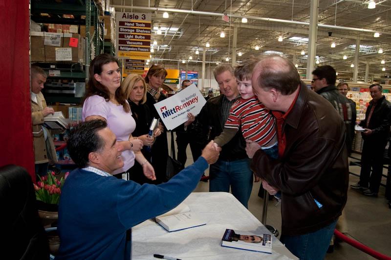 G-Man meets Mitt Romney