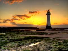 Golden light (Tony Shertila) Tags: sunset sea england sky lighthouse water weather coast europe britain scene mersey wallasey wirral newbrighton merseyside irishsea golde liverpoolbay expressyourselfaward