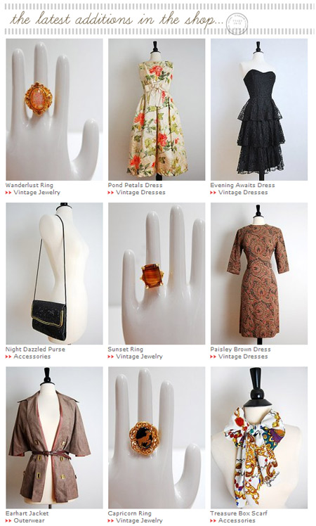 Shop Vintage Clothing and Accessories at Adorevintage.com!