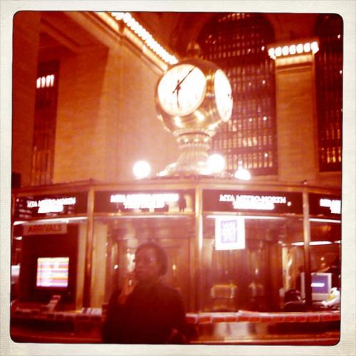 Grand central - clock