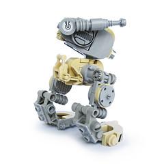 Tsatsu - Recon Runner (Fredoichi) Tags: robot lego space military walker micro mech biped microscale fredoichi