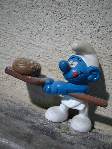 Smurf Mascot - Hobbs House