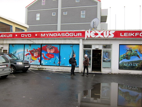 Iceland's only comic shop