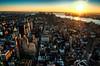 The top of the world (dani.Co) Tags: nyc sunset newyork building nikon empirestate bigapple hdr skyscrapper d300 platinumphoto danico diamondclassphotographer flickrdiamond danicophoto