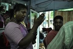 DSC_1901 (Magdalena Malinowska) Tags: gay people india indian moustache jewellery suburbs chennai begging gender transsexual barbers gestures hijra aravani