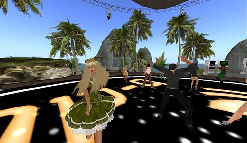 st patricks day party in second life