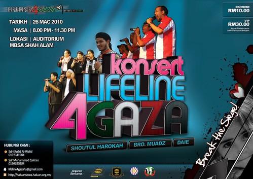 KONSERT LIFELINE 4 GAZA