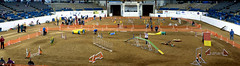 StarCityK9TrainingClub_Trial'10 (damarkee) Tags: panorama pets dogs virginia nikon lexington pano d70s agility virginiahorsecenter hugin sigma70200f28 5imagestitch 2011akcagilitynationalssite 2011akcagilitynationals