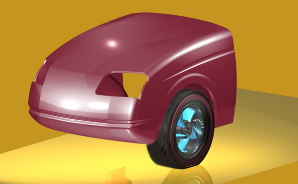 Sheet metal features added to front end section