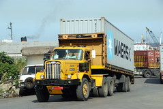 TRUCKING IN LEBANON (Claude  BARUTEL) Tags: road lebanon truck transport eat middle beirut trucking