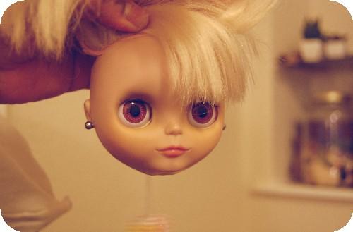 I pierced her ears!