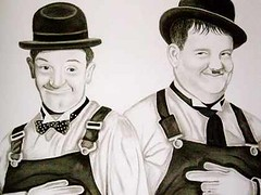 Laurel and Hardy charcoal pencil portrait (Portrait from a photo) Tags: portrait blackandwhite celebrity art film pencil portraits star artwork artist drawing pastel drawings swissmiss gift charcoal hollywood bowlerhat present movies commission graphite birthdaypresent christmaspresent laurelandhardy wayoutwest realistic weddingpresent stanlaurel oliverhardy decorators commissioned comedians portraitartist oldmovies filmstars anniversarypresent achumpatoxford commissionaportrait christeningpresent portraifromaphoto