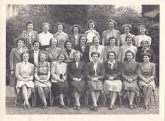 Stamford High School Staff cira 1950