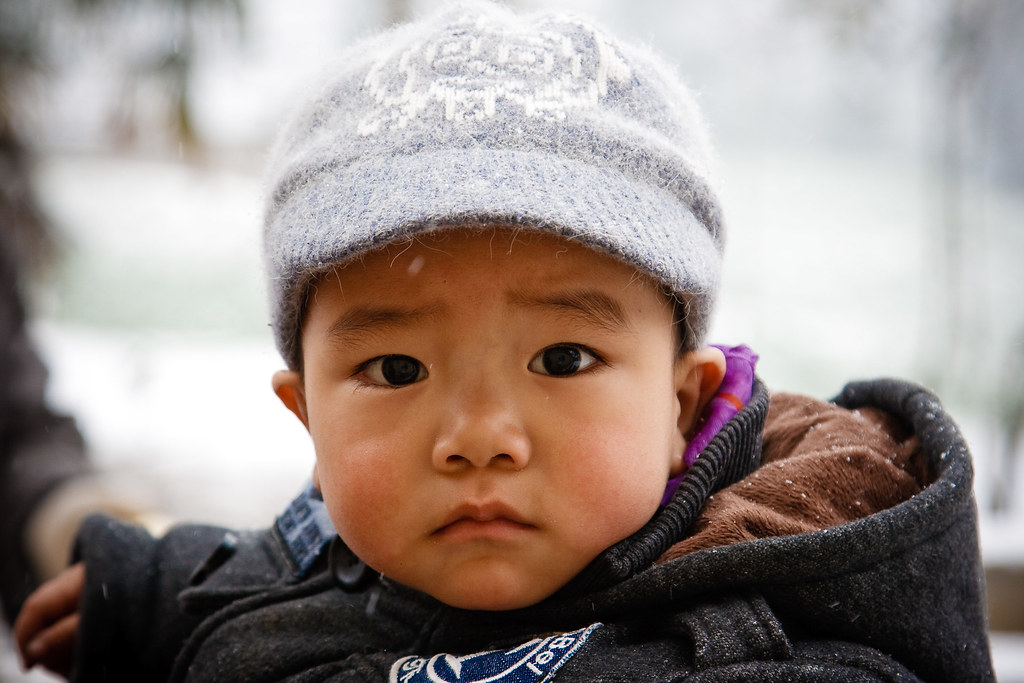 Cute Baby in An'Kang 2010 安康