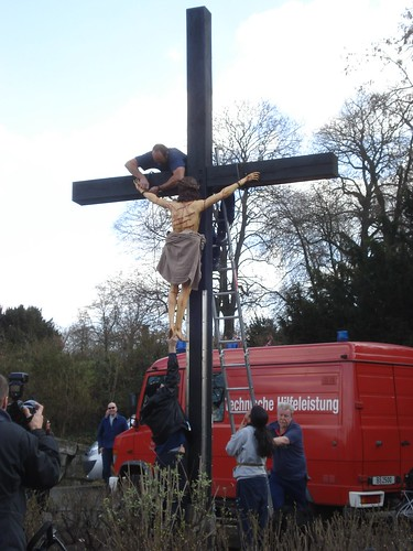 Jesus auf dem Kreuzberg