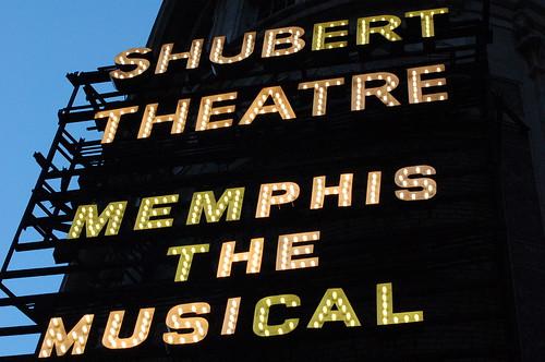 Memphis the Musical, Shubert Theatre, New York