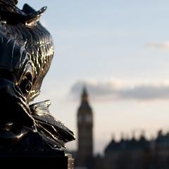 Fish and Big Ben (wikiwick) Tags: 50mm canoneos300d englandlondon